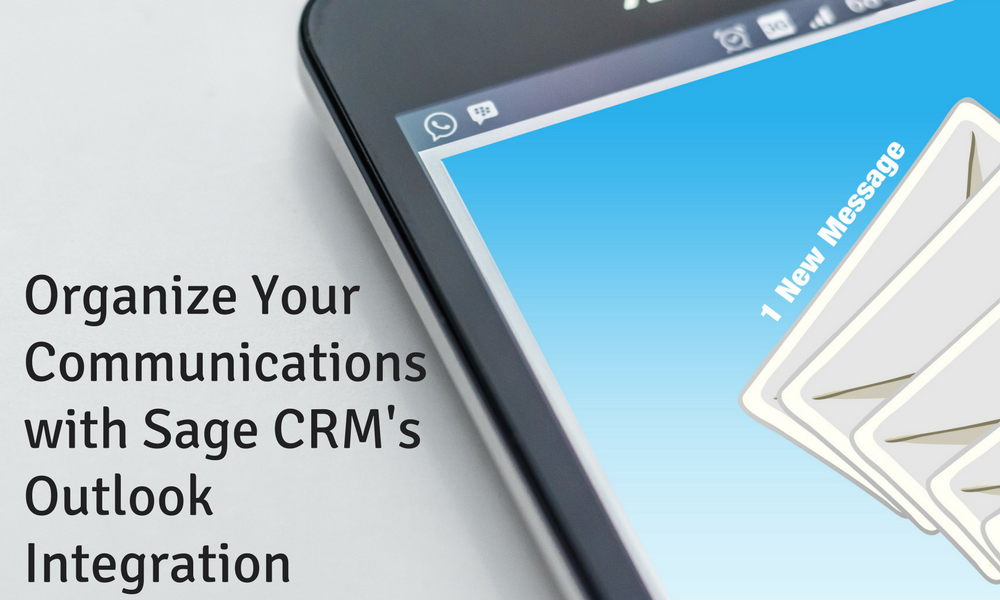 sage crm's outlook integration