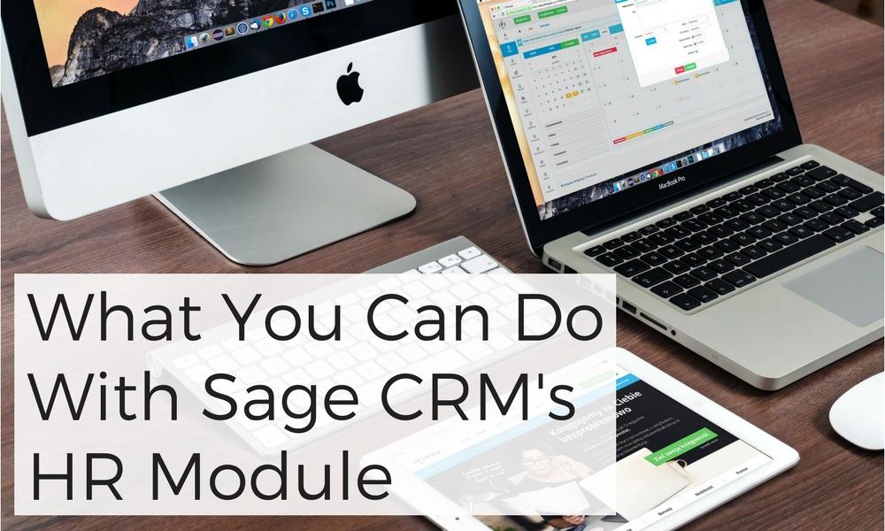 Sage CRM's HR Module