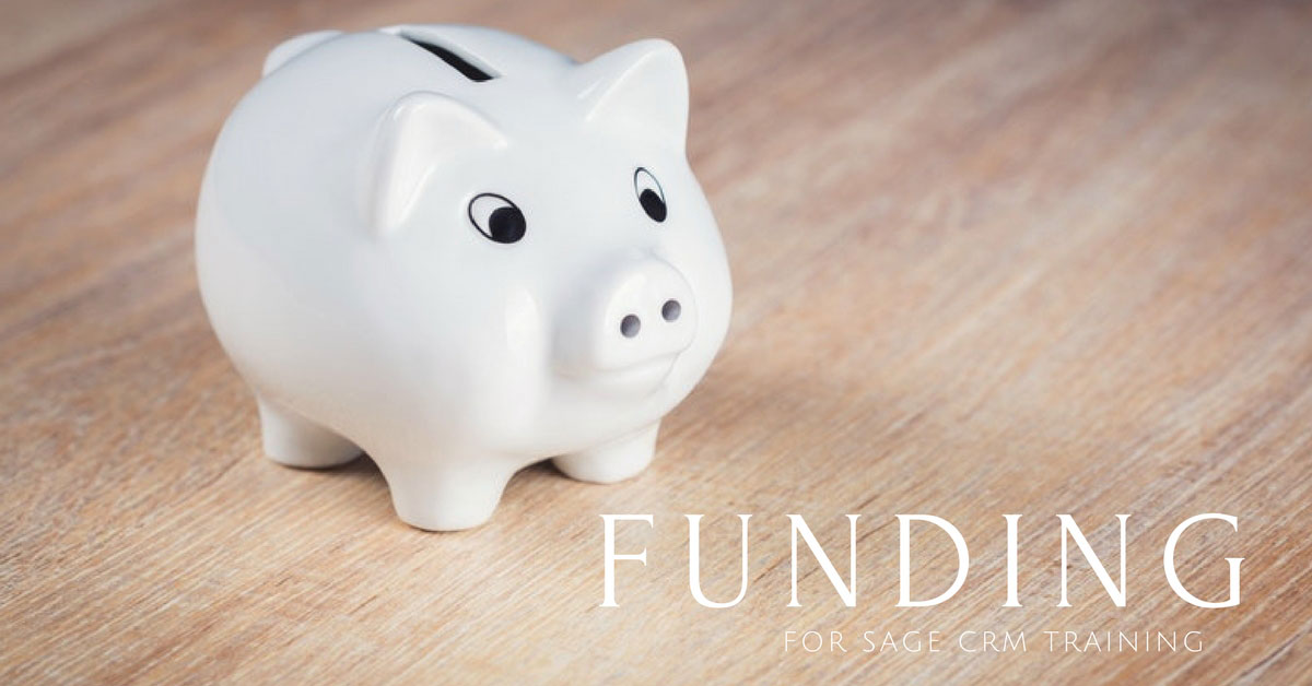 funding for sage crm training